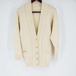Liz Claiborne vintage wool cardigan